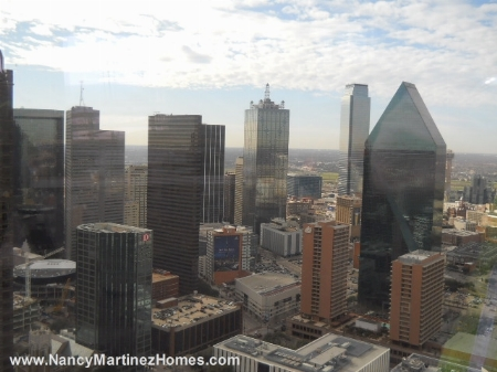 South to Downtown Dallas